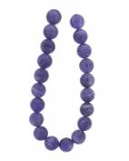 Tennessee Crafts 1029 Semi Precious Amethyst Round 10mm Beads, 19-Piece