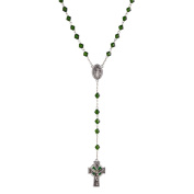 Grasslands Road 463878 Celebrating Heritage 60cm Faceted Rosary Beads with 3.8cm Cross