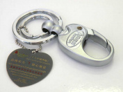 Heavy Duty Key Holder-Heavy Duty Key Chain/Handbag Charm,Gorgeous w/Rhinestone,The Most Elegant Key Holder,5.1cm w x 13cm H ,Super Saving, .  d