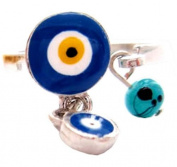 Evil Eye Ring 'Moon'