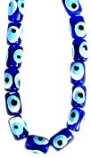 Evil Eye Bead 'Small Tube'