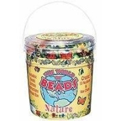 Bead Bazaar Bead Barrel - Nature Set