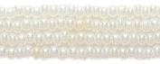 Preciosa Ornela Czech Seed Bead, Pearl Off White, Size 11/0