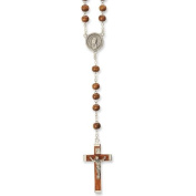 Brown Wood Rosary By The Vatican Observatory