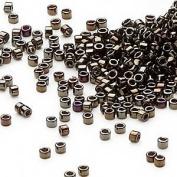50 Grammes Iris Khaki (Db7) Delica Myiuki 11/0 Seed Bead Approx 10,000 Beads