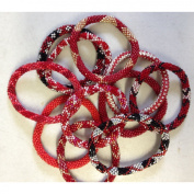 Lily and Laura Bracelet - Red 1 bracelet individual