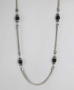 Regal Jewellery Black Pearl Necklace