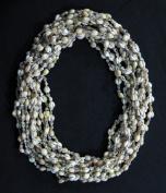 Natural Hawaiian Double Cowrie & Dove Shell Leis / 1 Dozen