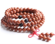 The Art of CureTM (70cm ) Healing Jewellery & Mala meditation beads (108 beads on a strand) GoldStone