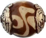 Gzi Beads (Price Per Piece) - Sterling Silver