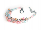 Viva Beads Coral Reef Bracelet | Crystal Cluster | - Handmade Clay Beads Jewellery 05405225