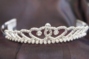 New Bridal Wedding Tiara Crown with Crystal Party Accessories C110014