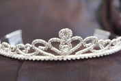 New Bridal Wedding Tiara Crown with Crystal Party Accessories C120016