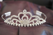 New Bridal Wedding Tiara Crown with Crystal Party Accessories C19758