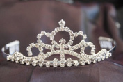 New Bridal Wedding Tiara Crown with Crystal Party Accessories C19759