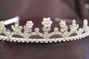 New Bridal Wedding Tiara Crown with Crystal Party Accessories DH14493