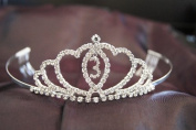 New Bridal Wedding Tiara Crown with Crystal Party Accessories DH15293-3