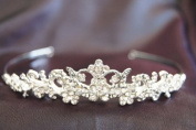 New Bridal Wedding Tiara Crown with Crystal Party Accessories KC11037