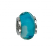 151380 Murano Glass Bead with Solid Sterling Silver Core. Weight- 3.00g