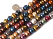 "12-16mm Multicolor Natural Freshwater Pearl Beads Strand 15"" Jewellery Making Beads"