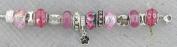 Pink Dog Charm Bracelet