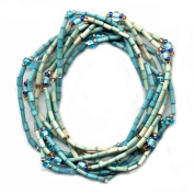 Zulugrass Bracelet or Necklace - Turquoise Gem