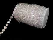99 ft Faux Crystal Beads by the roll