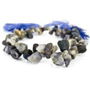 Iolite Beads Tumbled Top Drilled Nugget