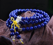 The Art of CureTM (70cm ) Healing Jewellery & Mala meditation beads (108 beads on a strand) Lapis