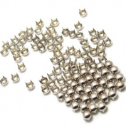 Pack of 1000pcs 8MM SILVER Round Dome Metal Studs Spots Nailheads Fastners