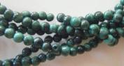 """Malachite 4mm Round Beads 13"""""""