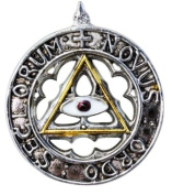 Knights Templar New Order of the Ages Talisman for Enlightened and Happy Future Pendant Amulet