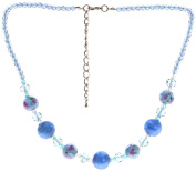 "Lova Jewellery ""Dew"" Hand-blown Venetian Murano Glass Necklace"