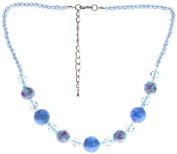 "Lova Jewellery ""Dew"" Hand-blown Venetian Murano Glass Necklace"