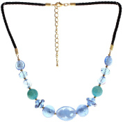 "Lova Jewellery ""Heaven"" Hand-blown Venetian Murano Glass Necklace"