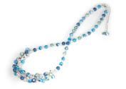 Viva Beads Blue Bikini Necklace | Crystal Cluster | - Handmade Clay Beads Jewellery 05605521