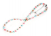 Viva Beads Coral Reef Necklace | Short Strand | - Handmade Clay Beads Jewellery 05604925