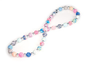 Viva Beads Magical Multi Necklace | Silverball 8mm | - Handmade Clay Beads Jewellery 05600020