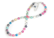 Viva Beads Magical Multi Necklace |8mm Crystal Strand | Non-Stretch | - Handmade Clay Beads Jewellery 05605020