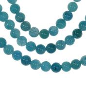 "Apatite Blue 6mm Round Beads Strand 16"""