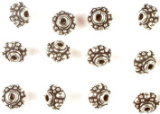 Sterling Granulated Superfine Beads (Price Per Four Pieces) - Sterling Silver