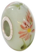 Fenton Art Glass Rhododendron Bud Bead Retired - Handmade Lampwork Glass USA