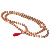 Prabhuji's Gifts- Sandalwood Mala - 108 Prayer Beads