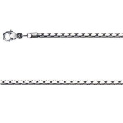 "Bico Chain Jewellery (F14) 55cm 22"" Length Medium Stylus Chain"