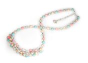 Viva Beads Coral Reef Necklace | Crystal Cluster | - Handmade Clay Beads Jewellery 05605525