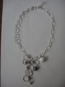 Crystal Quartz Handmade Jewellery 42cm