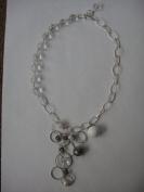 Crystal Quartz Handmade Jewellery 42cm