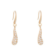 Annaleece Crystal Rain Earrings. Elements DeVries Hypoallergenic Nickel-Free 4262-ANNA