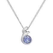 Annaleece December Birthstone Necklace. Elements DeVries Hypoallergenic Nickel-Free ESS10TZ-ANNA