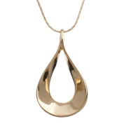 Annaleece Prelude, Gold - Necklace. Elements DeVries Silver